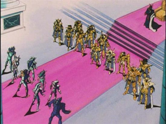 imagen animado saint seiya: